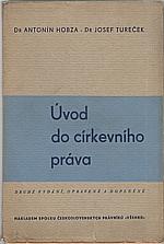 Hobza: Úvod do církevního práva, 1936