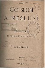 Lužická: Co sluší a nesluší, 1893
