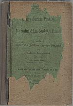 Borový: Dějiny diecése pražské, 1874