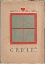 Němcová: Chudí lidé, 1930
