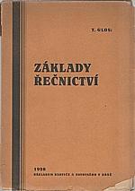 Glos: Úvod do nauky o řečnictví, 1928
