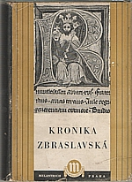 Žitavský: Kronika Zbraslavská, 1952