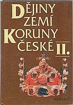 Bělina: Dějiny zemí Koruny české. II., Od nástupu osvícenství po naši dobu, 1998