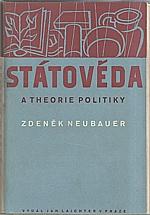 Neubauer: Státověda a theorie politiky, 1948