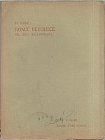 Taine: Konec revoluce. I-III, 1910