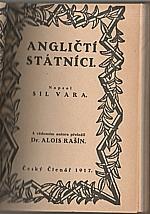 Sil Vara: Angličtí státníci, 1917