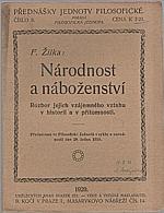 Žilka: Národnost a náboženství, 1920