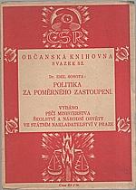 Sobota: Politika za poměrného zastoupení, 1924