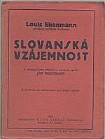 Eisenman: Slovanská vzájemnost, 1919