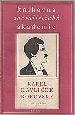 Říha: Karel Havlíček Borovský, 1950