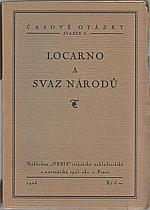 : Locarno a Svaz národů, 1925