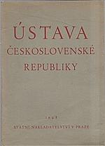: Ústava Československé republiky ze dne 9. května 1948, 1948