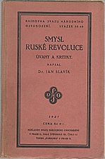 Slavík: Smysl ruské revoluce, 1927