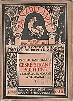 Heidler: České politické strany v Čechách, na Moravě a ve Slezsku, 1914