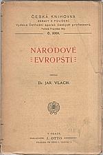 Vlach: Národové evropští, 1908