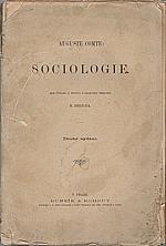 Comte: Sociologie, 1893