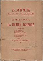 Denis: Články a úvahy z La Nation Tchéque. Řada I., 1920