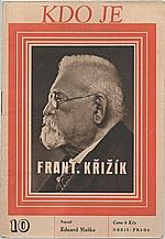 Maška: František Křižík, 1946