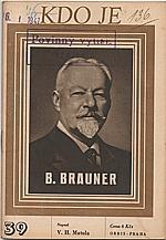 Matula: Boh. Brauner, 1947