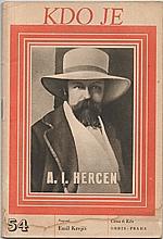 Krejčí: A. I. Hercen, 1947