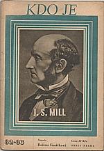 Šimáčková: John Stuart Mill, 1947