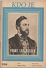 Vinš: Frant. Lad. Rieger, 1948