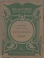 Duhamel: Civilisace ; Oběť, 1920