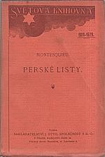 Montesquieu: Perské listy, 1926