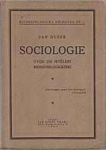 Dušek: Sociologie, 1926