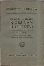 Bezold: K dějinám husitství, 1914