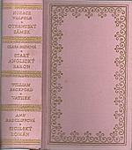Walpole: Otrantský zámek ; Starý anglický baron ; Vathek ; Sicilský román, 1970