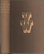 Werich: Hry Osvobozeného divadla. 1. [díl], 1954
