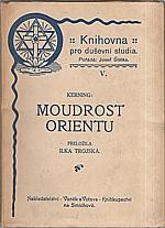 Kerning: Moudrost orientu, 1922