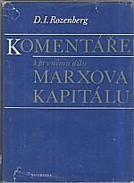 Rozenberg: Komentáře k prvnímu dílu Marxova Kapitálu, 1980