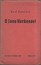 Domorázek: O Janu Herbenovi, 1938