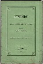 Aischylos: Eymenidy, 1862