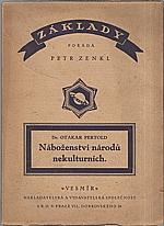 Pertold: Náboženství národů nekulturních, 1925