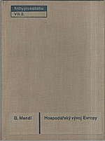 Mendl: Hospodářský vývoj Evropy, 1931