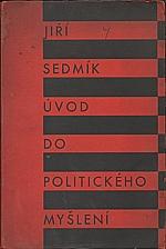 Sedmík: Úvod do politického myšlení, 1932