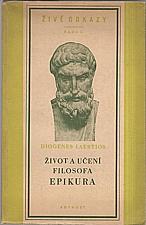Diogenés Laertios: Život a učení filosofa Epikura, 1952