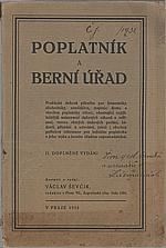 Ševčík: Poplatník a berní úřad, 1932
