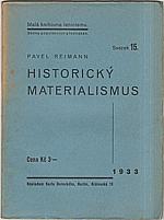 Reiman: Historický materialismus, 1933