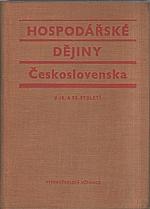 Průcha: Hospodářské dějiny Československa v 19. a 20. století, 1974