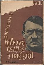 Bauer: Hitlerova třetí říše a náš stát, 1933