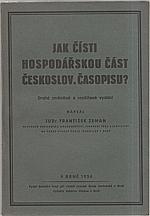 Cetechovský: Jak čísti hospodářskou část českoslov. časopisu?, 1934