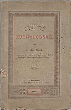 Slavík: Panství kutnohorské, 1882