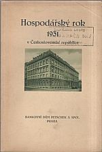: Hospodářský rok 1931 v Československé republice, 1932