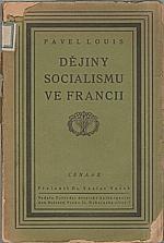 Louis: Dějiny socialismu ve Francii, 1920