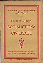 Andler: Socialistická civilisace, 1919