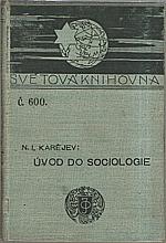 Karejev: Úvod do sociologie, 1907